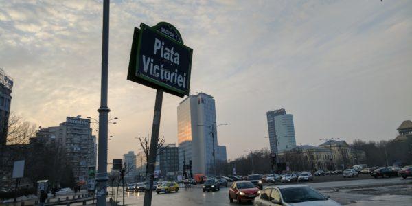 Piata Victoriei, Bucharest